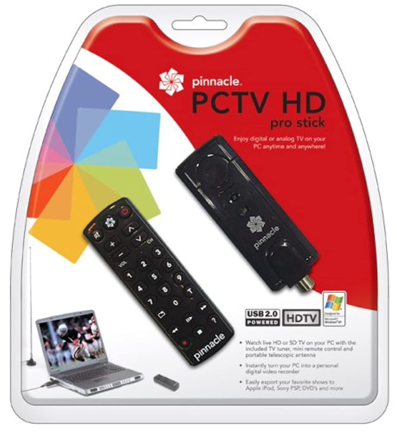 PCTV HD Pro Stick USB2 HDTV Tuner for Free HD