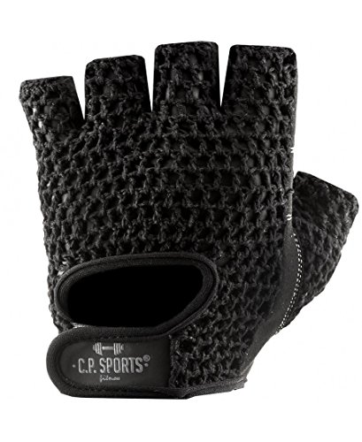 C.P. Sports Trainings Fitness Handschuh Klassik, Schwarz/Weiß, XXL, 38584 - 3
