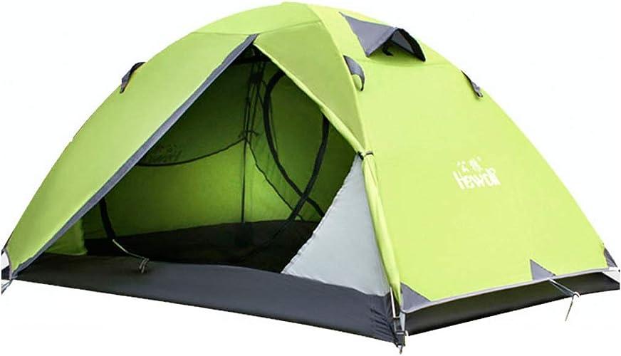 8haowenju Tente extérieure Double, Tente de Camping, matériaux de Haute qualité, Facile à Installer, propice à la Montagne, la randonnée