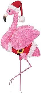 Holiday Time Fluffy Flamingo (Pink Fluffy Flamingo)