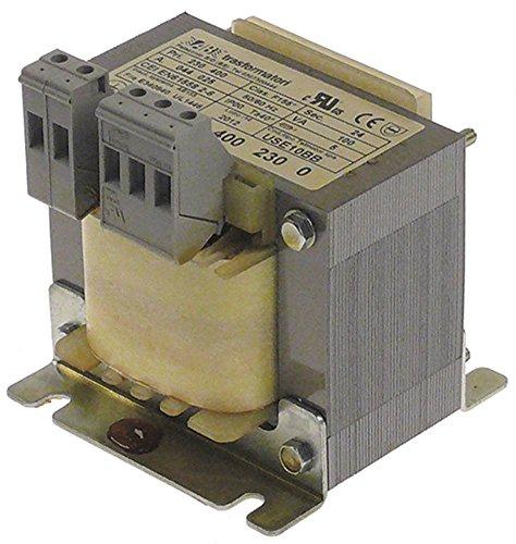 Omniwash Transformator USE10BB voor vaatwasser SEI 2P 100/220VA 50/60Hz 230/400V schroefaansluiting breedte 85mm hoogte 95mm 24VAC