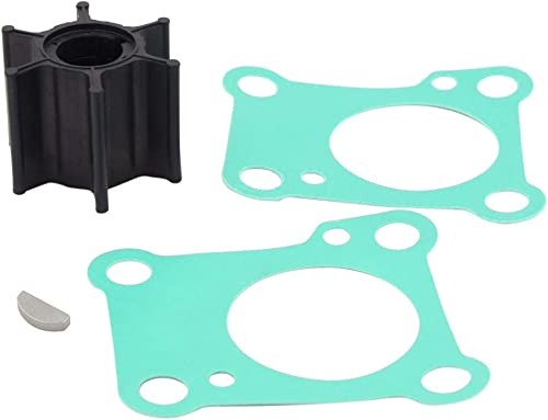 CM New Water Pump Impeller Service Kit Replacement for Honda BF9.9A BF15A 06192-ZV4-000 18-3280