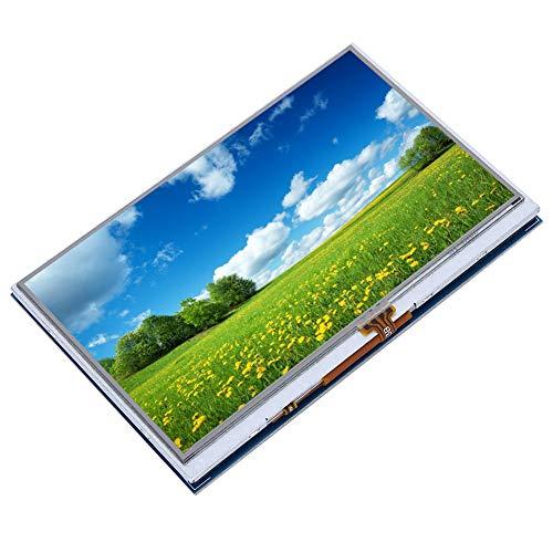 Pantalla Hdmi, Pantalla LCD, resolución 800X480 Duradera para Tableta Raspberry Pi