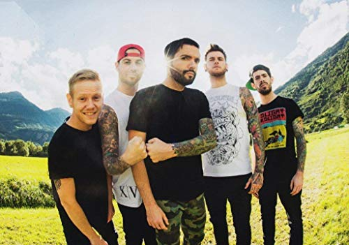 Generic A Day to Remember Bad Vibrations Foto Poster Band Tour ADTR Homesick 010 (A5-A4-A3) - A3