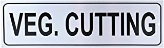 Raj Sign Board Veg Cutting, 26 cm, Silver-LP0017