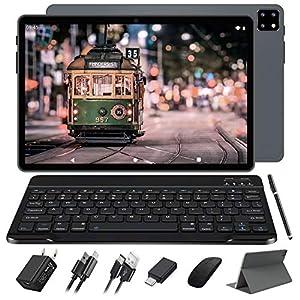 5G WiFi Tablet 10 Pulgadas FACETEL Octa-Core Android 10.0 Tablets Tablet PC 4GB RAM 64 GB ROM (TF 128GB) FHD1920*1200   8000mAh   5MP+8MP   WiFi   GPS   Bluetooth - Gris