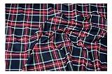 Fabrics-City% SCHWARZ ORIGINAL SCHOTTENKARO STOFF TARTAN