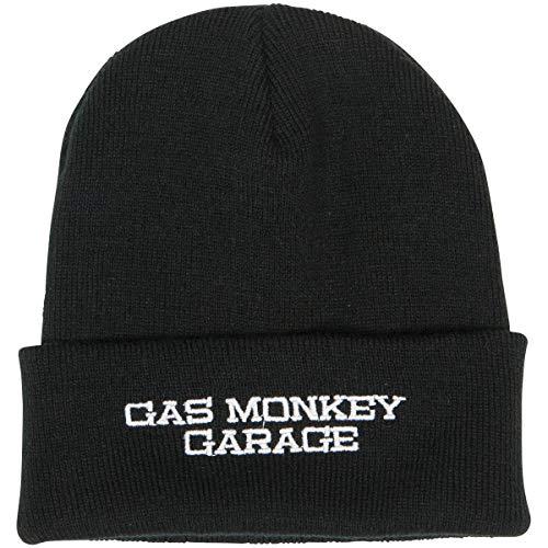 Gas Monkey Garage Officiellement sous Licence Brodé Bonnet (Noir)