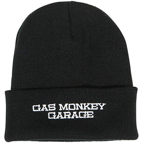 Gas Monkey Garage Officiellement sous Licence Brodé Bonnet (Noir)