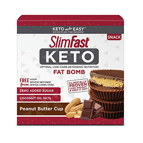 SlimFast Keto Fat Bomb Snacks, P...