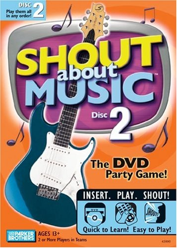 Hasbro Games Shout About Music Disc 2