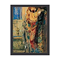 INOV ギュスターヴ・モロー著先に進める アートフレーム ポスター 壁掛け 壁飾り 絵画 アートパネルフレーム 額縁 ウォールデコ おしゃれ 飾る 記念 ギフト模様替え
