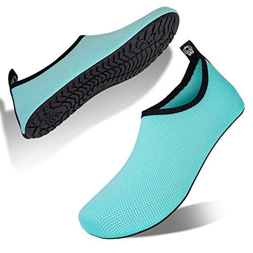 Hombre Mujer Escarpines Zapatillas Agua Zapatos De Agua para Zapatos De Buceo De Playa...
