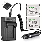 Kastar 2X Battery + Charger for Olympus LI-50B LI-50C & XZ-1 SZ-30MR SZ-10 SZ-11 SZ-20 SP800UZ Stylus Tough-6020 Tough-8010 Tough-6000 Tough-8000 Tough TG-810 1030 SW TG-610 SZ10 Tough 8000 TG810