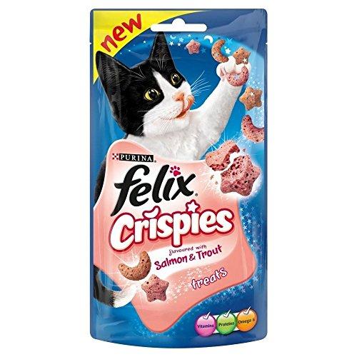 Felix Crispies Saumon & Truite (45g) - Paquet de 2