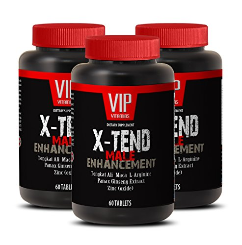 Pills for Men Bigger - X-TEND - Male Enhancement - Tribulus longjack - 3 Bottles 180 Tablets