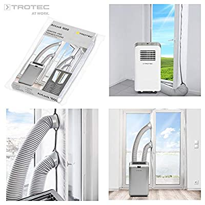 TROTEC AirLock 1000 Door and Window Seal for portable air conditioners and tumble dryer Hot Air Stop