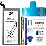 DEJIMAX S9 Batería, Batería de Alta Capacidad de 3200 mah para Samsung Galaxy S9 / EB-BG960ABE, Batería de Repuesto con Kit de Reparación