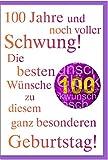 Glückwunschkarte zum 100. Geburtstag