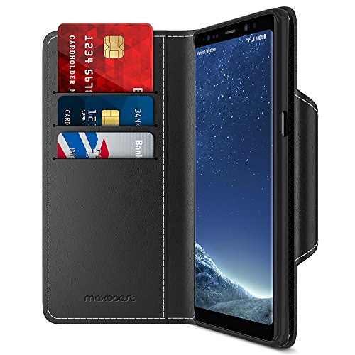 Best galaxy note 8 case wallet stand for 2021