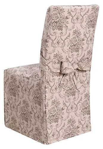 Madison Chateau SLIPCOVER Dining Room Chair SLICOVER, Taupe
