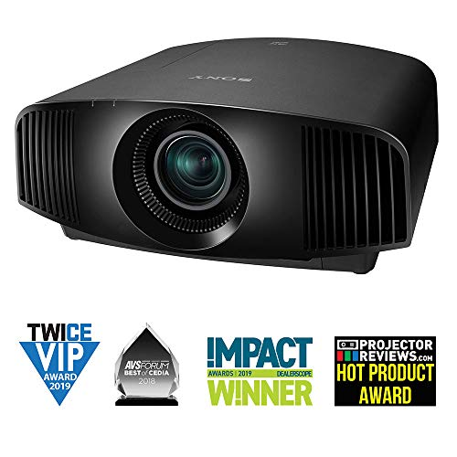 Sony Home Theater Projector VPL-VW295ES: Full 4K HDR Video Projector for TV, Movies and Gaming - Home Cinema Projector with 1,500 Lumens for Brightness and 3 SXRD Imagers for Crisp, Rich Color