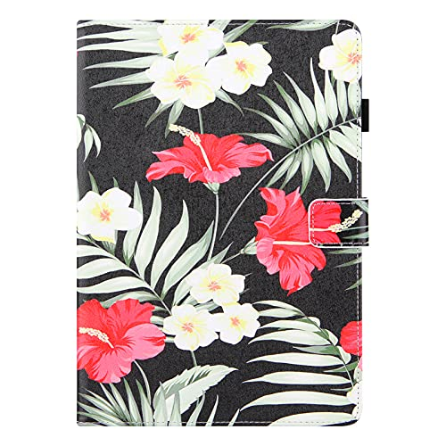 JIan Ying Custodia per Samsung Galaxy Tab S6 Lite SM-P610 P615 Tablet Sottile Colorée Protector Cover Fiore