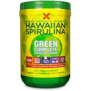 Pure Hawaiian Spirulina Green Complete Superfood Powder- Vegan, Non GMO - Natural Superfood Grown in Hawaii, 6.7 Ounce