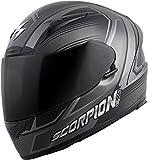 Scorpion EXO-R2000 Launch Phantom Full Face Helmet - Medium