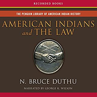American Indians and the Law cover art