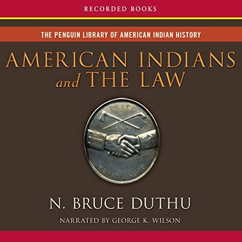 American Indians and the Law audiobook cover art