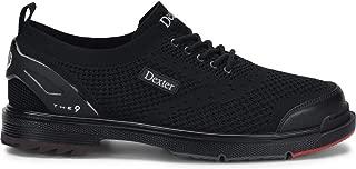 Dexter Mens T.H.E 9 Stealth Black Wide Width Bowling Shoes