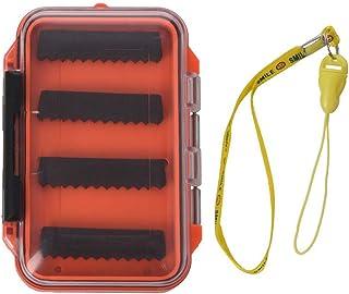 Deyan Portátil Impermeable Doble Cara señuelo de Pesca con Mosca Cebo Trucha Moscas Caja de Almacenamiento Caja contenedor