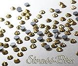Strass Hotfix DMC Crystal dorado, oro, SS20 pieza número a elegir, Oro Cristal Piedras, 50