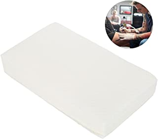 Disposable Tattoo Paper, 70pcs Disposable Tattoo Towel Paper Tissue Cloth Cotton Cleaning Body Facial Skin Care Makeup