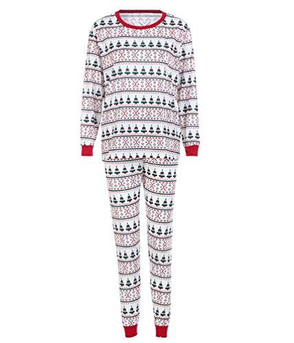 Weihnachten Pyjama Familie Weihnachts Schlafanzug Schlafanzüge Erwachsene Frauen Männer Kinder Schlafanzüg Weihnachtspyjama Nachtwäsche Schlafoverall Baby Einteiler Jumpsuit Zum Mama XL