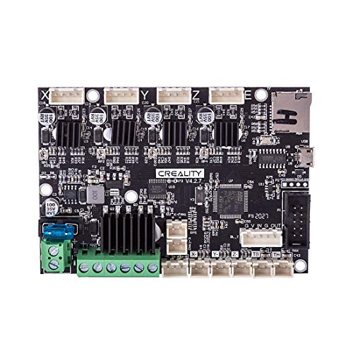 Creality Ender 5 Upgrade Mainboard, New Upgraded V4.2.7 Silent Motherboard Control Board with TMC2208 Driver for Ender 5
