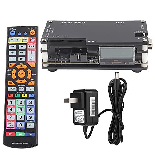 Yunseity Convertidor de escaneo de código Abierto, convertidor de componente OSSC SCART a DVI/HDMI, transmisor de Video de Juegos Retro RGB sin retraso, para SFC/MD/PS/SS / ps2 / Xbox/Wii