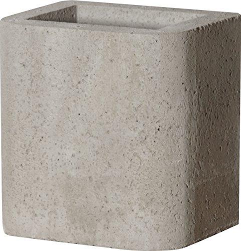 Buschbeck Grill Zubehör, Schornsteinverlängerung für Gartengrillkamin, grau, 33 x 27 x 34 cm, 90083.001