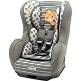 Car seat Group 0+/1 (0-18kg) - Made in France - 3 Stars Test ADAC - Side Protections - Reclining Seat -Approved ECE R44/04.