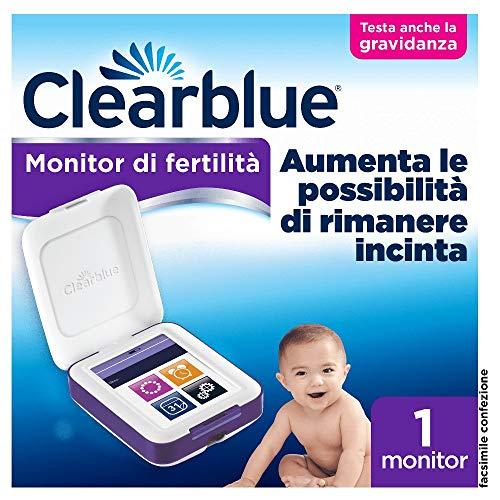 Monitor Di Fertilità Clearblue Avanzato, Test Di Ovulazione E Gravidanza, Aumenta le Probabilità di Rimanere Incinta – 1 Monitor Sensibile al Tatto (Stick di Test Venduti Separatamente)