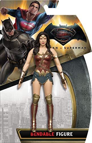 NJ Croce- Batman vs Superman Dc Comics Wonder Woman Personaggio Snodabile, DC3963