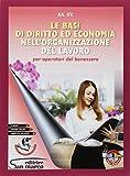 Le basi di diritto ed economia nell'organizzazione del lavoro. Per gli Ist. professionali....