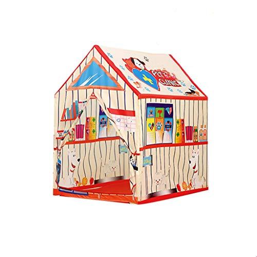 CSQ Innenozean-Ball-Pool-Geburtstags-Geschenk, Haushalts-Kinderzelt-im Freienbaby-Mädchen-Spiel-Spielzeug-Raum 95 * 72 * 102CM Spielhaus für Kinder (Farbe : A)