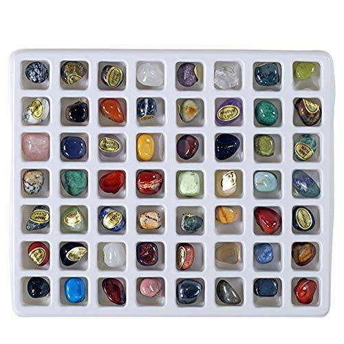 Steinset Natural Gemstones, 56er Edelsteinset, verschiedene Edelsteine