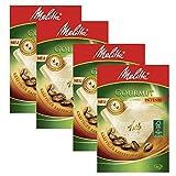 Melitta - Filtros de café intenso, paquete de 80 unidades, tamaño 1x4