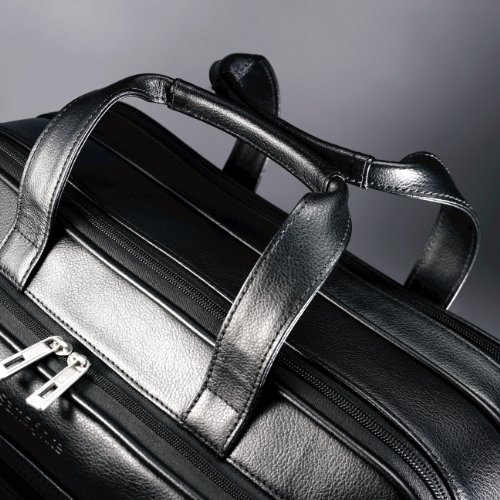 Samsonite Leather Expandable Briefcase - Best Briefcases For Men