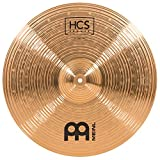 """Meinl Cymbals 18"""" Crash-Ride – HCS Traditional Finish Bronze for Drum Set, Made In Germany, 2-YEAR WARRANTY (HCSB18CR)"""