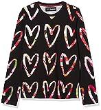 Desigual TS_Ana Camiseta, Negro, 9-10 Años para Niñas