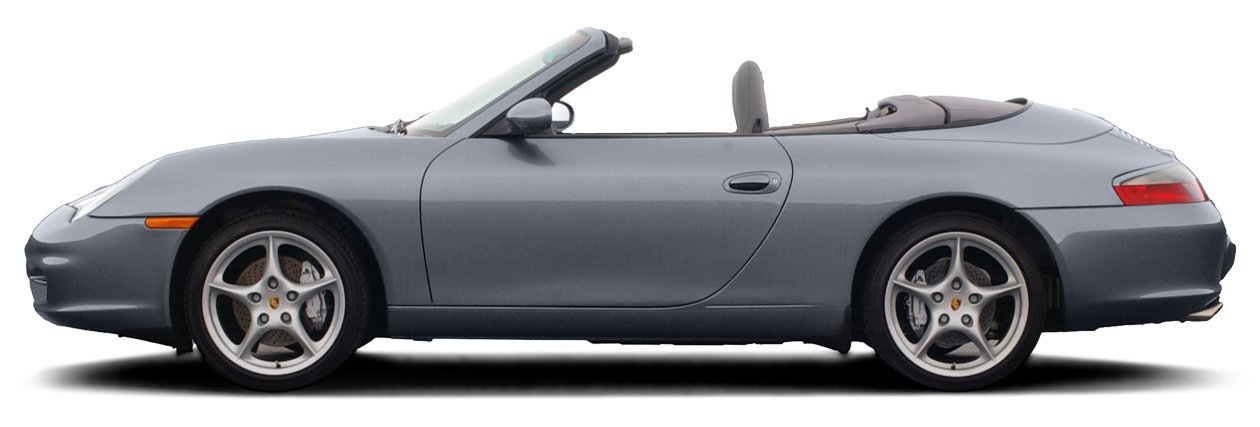 2003 Porsche 911, 2-Door Carrera 4 Cabriolet 6-Speed Manual Transmission ...